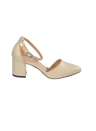 Maje 1903 Ten Kadın Topuklu Ayakkabı Ten